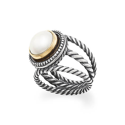 Marjan Cultured Pearl Ring James Avery
