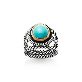 Marjan Ring with Turquoise