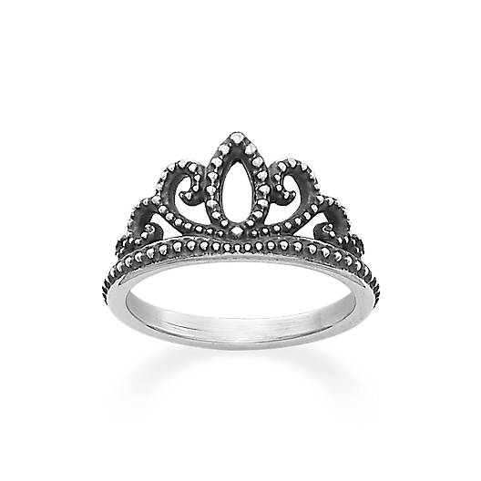 View Larger Image of Beaded Tiara Ring