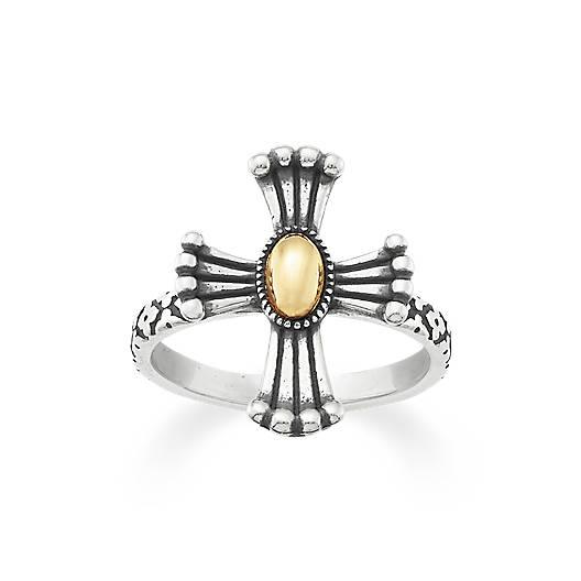 God's Light Cross Ring