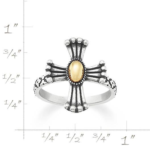 View Larger Image of God's Light Cross Ring