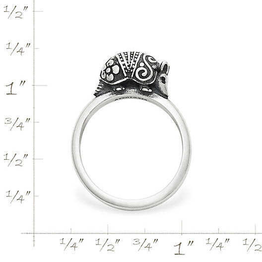 View Larger Image of Armadillo Stacking Ring