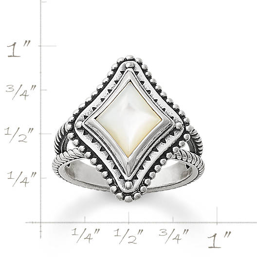 View Larger Image of Dakota Ring with Mother of Pearl