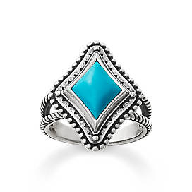 Dakota Ring with Turquoise