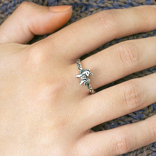 View Larger Image of Tiny Unicorn Ring