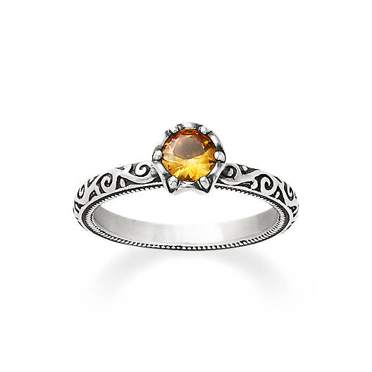 View Larger Image of Cherished Birthstone Ring with Citrine
