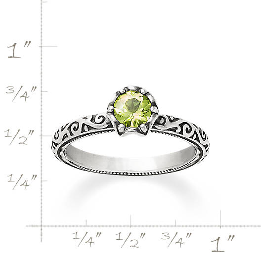 View Larger Image of Cherished Birthstone Ring with Peridot