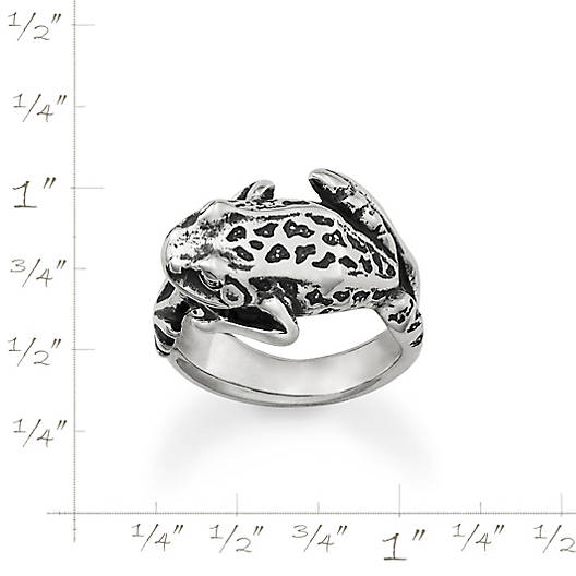 View Larger Image of Wrap Around Frog Ring