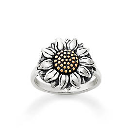 Wild Sunflower Ring