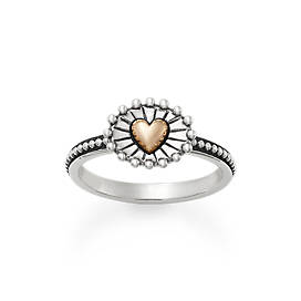 Radiant Heart Ring