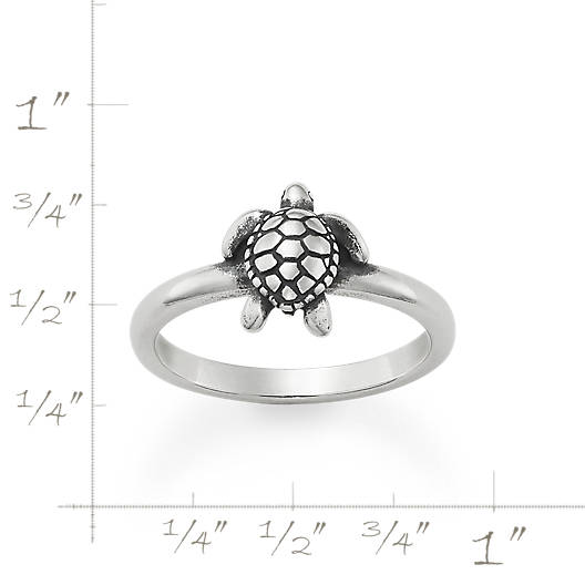 View Larger Image of Sea Turtle Ring