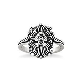 Tracery Cross Ring