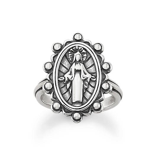View Larger Image of Virgin Mary Ring