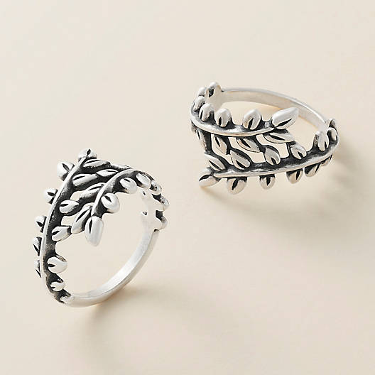 View Larger Image of Delicate Vines Ring