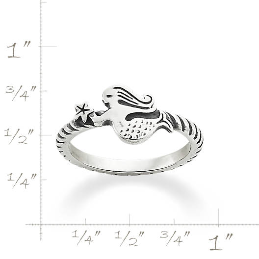 View Larger Image of Swimming Mermaid Ring