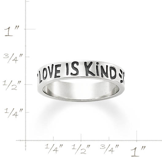 "View Larger Image of ""Love is Patient Love is Kind"" Ring"
