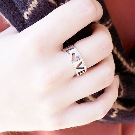 View Larger Image of Love Letters Ring