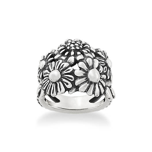 View Larger Image of Floral Cluster Ring