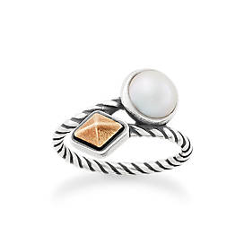 Marlowe Ring with Cultured Pearl