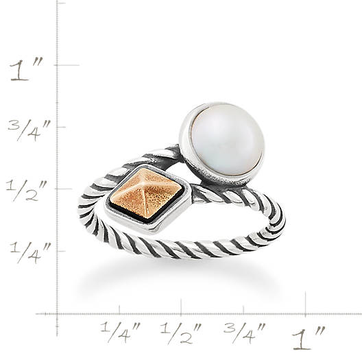 View Larger Image of Marlowe Ring with Cultured Pearl