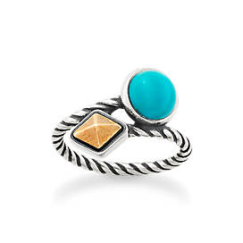 Marlowe Ring with Turquoise