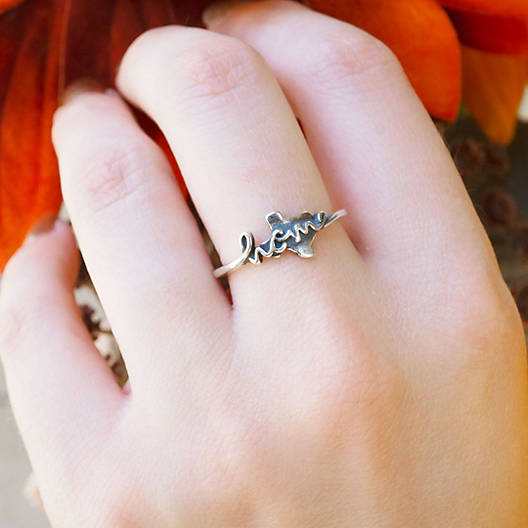 """View Larger Image of Texas is """"Home"""" Ring"""