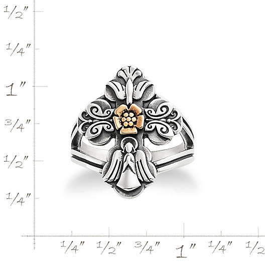 View Larger Image of La Vida Nueva Cross Ring