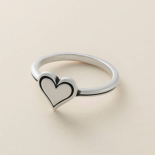 View Larger Image of Delicate Heart Ring