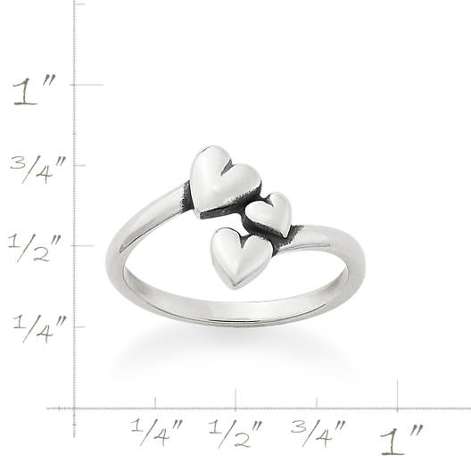 View Larger Image of Gathered Hearts Ring