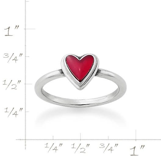 View Larger Image of Sweetheart Rouge Doublet Ring