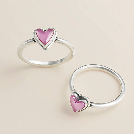 View Larger Image of Sweetheart Pink Doublet Ring