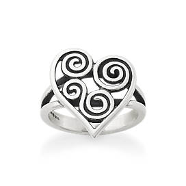 Athenian Heart Ring