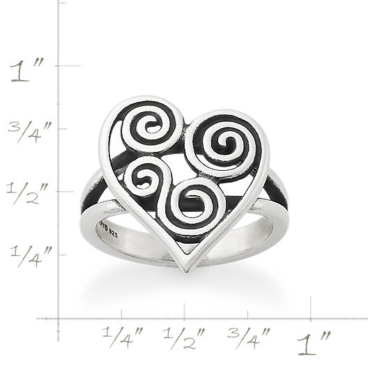 View Larger Image of Athenian Heart Ring