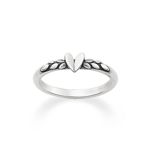 Heart and Vine Ring