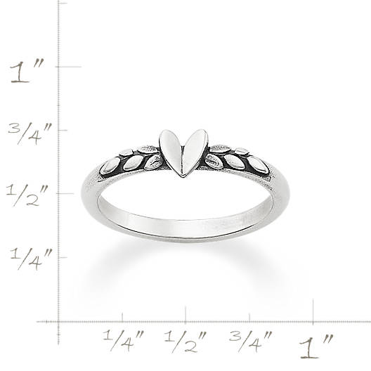 View Larger Image of Heart and Vine Ring