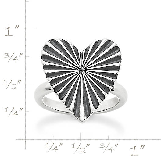 View Larger Image of Ava Heart Ring