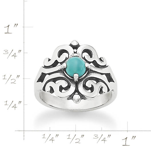 View Larger Image of Spanish Lace Ring with Turquoise
