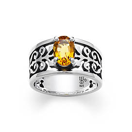 Adoree Ring with Citrine