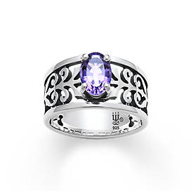 Adoree Ring with Amethyst
