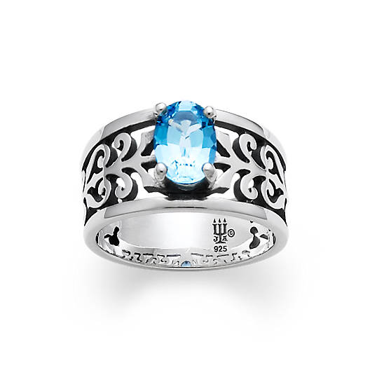 View Larger Image of Adoree Ring with Blue Topaz