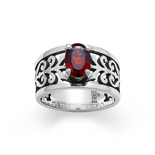 View Larger Image of Adoree Ring with Garnet