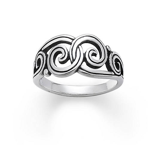 View Larger Image of Gentle Wave Ring