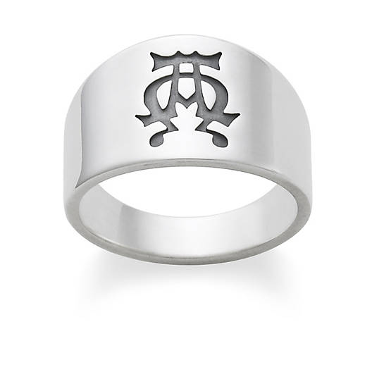 view larger image of alpha omega ring - James Avery Wedding Rings