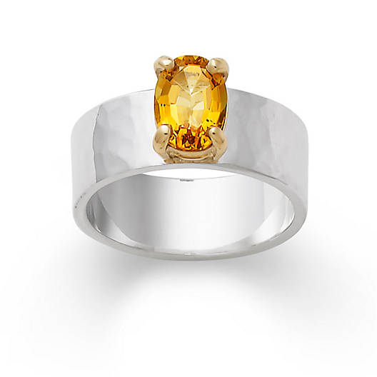 View Larger Image of Julietta Ring with Citrine