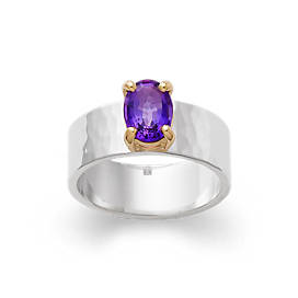 Julietta Ring with Amethyst