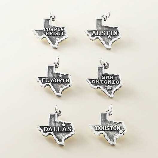 "View Larger Image of ""San Antonio"" Charm"
