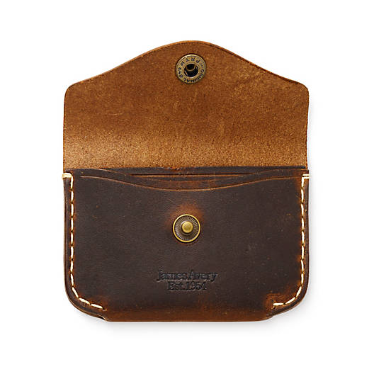 View Larger Image of Snap Front Leather Wallet