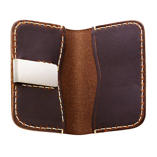 View Larger Image of Fold Over Leather Wallet