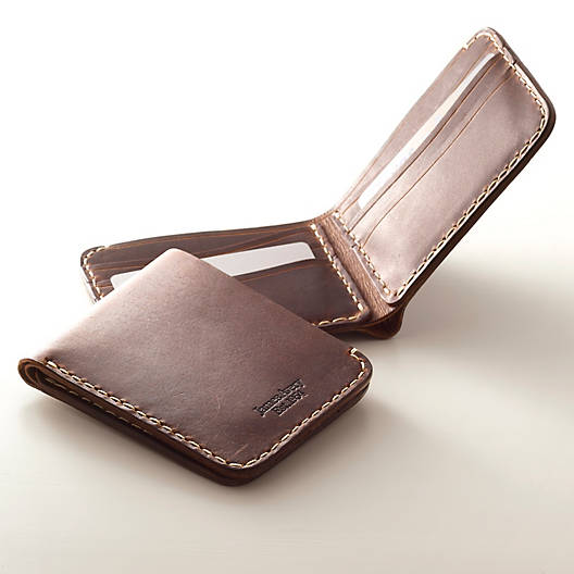 View Larger Image of Bi-Fold Leather Wallet
