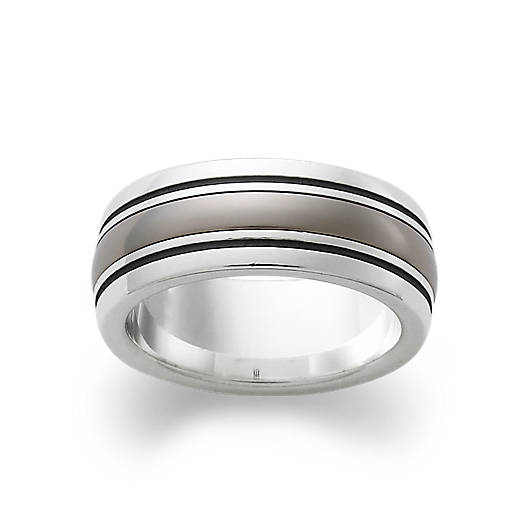 View Larger Image of Classic Smooth with Titanium Band